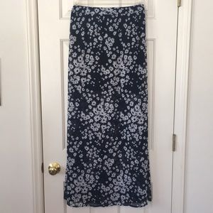Nwot hollister floral skirt